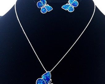 Sterling Silver Buterflies Necklaces