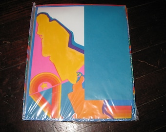 1968 Original Peter Max Stationery Sealed Package