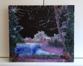 Original Landscape painting, fine art- Royden Park