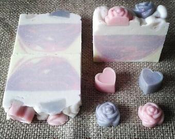 Violet cake SOAP