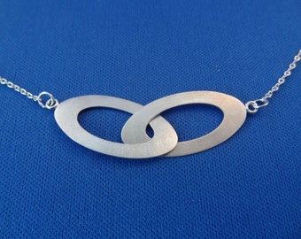 Free Shipping* Sterling Silver Necklace & Handgrafted Links