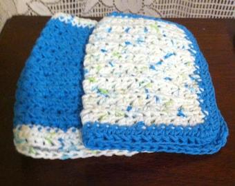 100 % Cotton Crocheted Dishcloths
