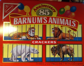 Barnum Tin filled with Goodies