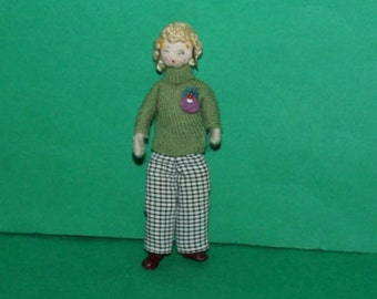 Vintage Dolls House Grecon Doll KM5008