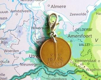 Nederland munt cent bedel op geboortejaar1948 - 1950 - 1951 - 1952 - 1953 - 1954 - 1955 - 1956 - 1957 - 1958 - 1959 pendant