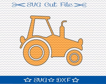 Tractor SVG File / SVG Cut File for Silhouette / Farm SVG / Farmer svg / Ranch svg / 4h svg