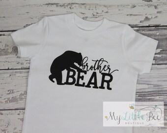 brother bear shirt, big brother, sibling shirt