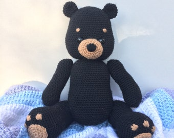 Black Bear Amigurumi