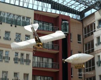 airship&glider plane