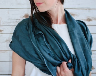 Fairtrade Dark Grey Bamboo Scarves