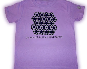 Size 7 Lavender Tessellations II T-Shirt
