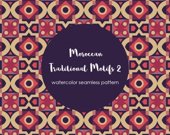 Traditional Moroccan Motif Pattern Part 3