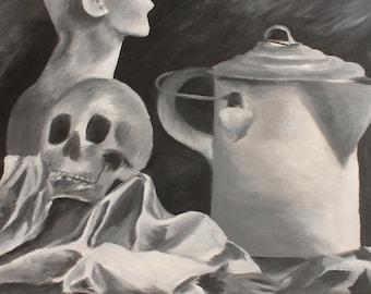 Still Life, Oil Painting