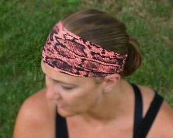Workout Headband, Running Headband, Fitness Headband, Yoga Headband, Stretch Headband, Headband