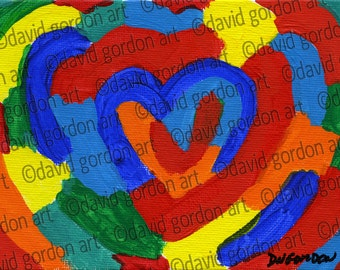 Heart Card (A4)