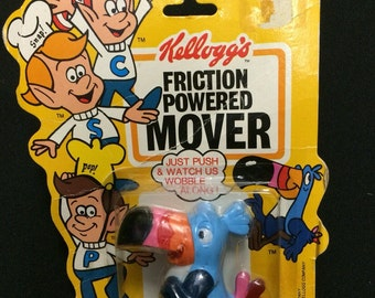 1984 Tucan Sam Kellogs Friction Powered Moving toy