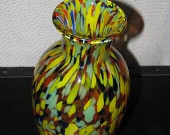 Summer Glass Vase