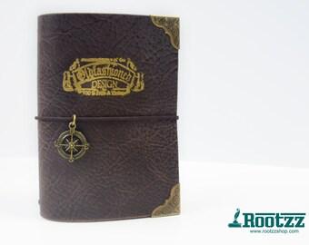 A6 Traveler's notebook Browns vintage midori travelers notebook