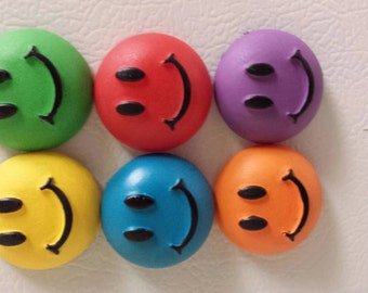 Smiley face Magnets