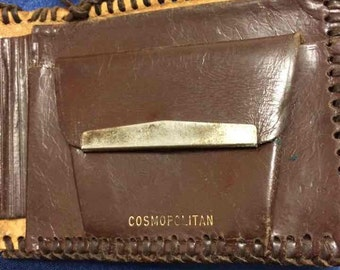 Vintage Carved Cosmopolitan Wallet