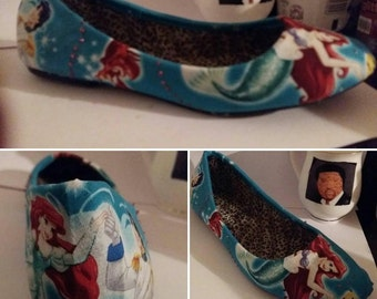 little mermaid dolly shoes