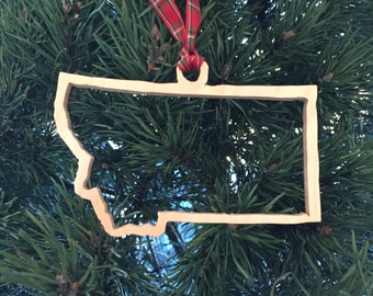 Christmas in Montana Ornament