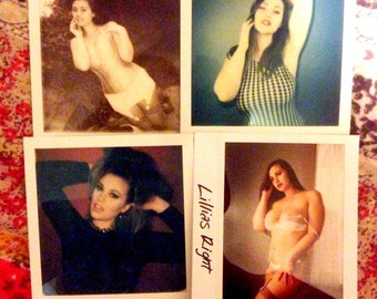 One of a kind signed SFW Polaroid