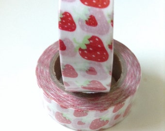 Strawberry Washi Tape