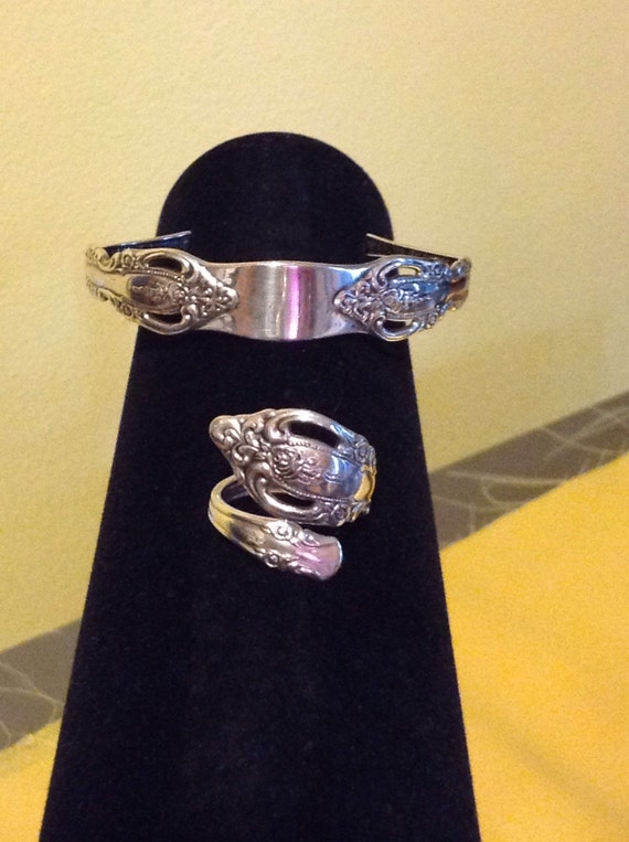 Spoon ring and bracelet