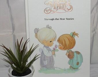 Vintage 1989 Precious Moments V. Gilbert Beers hardback illustrated storybook;Vintage storybooks;Precious Moments books;Children storybooks