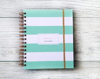 201718 2018 Personalized Planners Wedding by MADEtoPLAN on Etsy