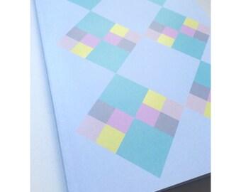 A5 Geometric Notebook