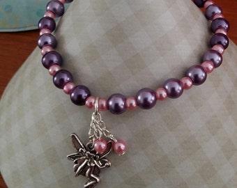 Stretch Fairy Charm Bracelet