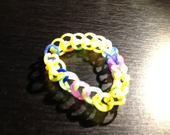 a colorful bracelet