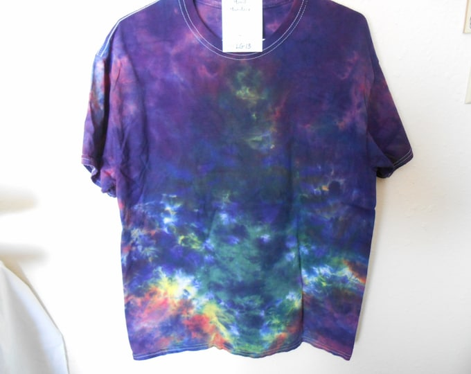 "100% cotton Tie Dye T-shirt ""Midnight Sky"" MMLG13 size LG"