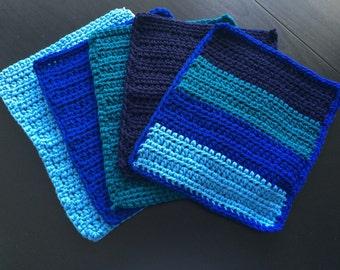 Crochet Dishcloth 5pk