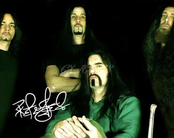 Peter Steele signed photo print - 12x8 inch - high quality -
