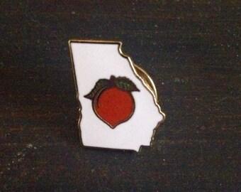 Vintage Georgia Pin