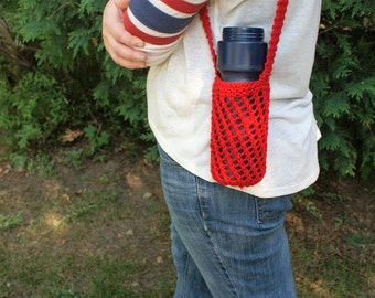 Knit Water Bottle Holder