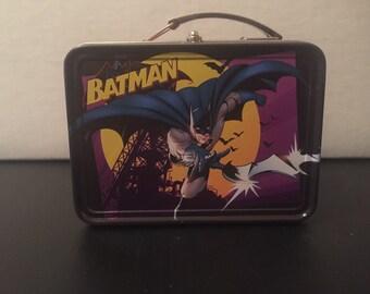 Mini Tin Batman Lunchbox
