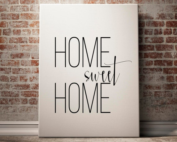 Home sweet home entrance wall art home sweet home poster Home sweet home wall decor