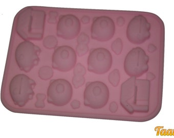 Taavi Decorate a Pig Silicone Mold (T-141)