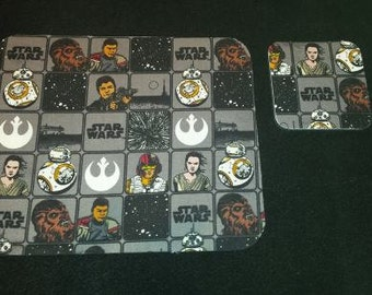 Star Wars Mouse Pad & Coaster Set