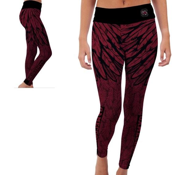 South Carolina USC Gamecocks Yoga Pants Designs