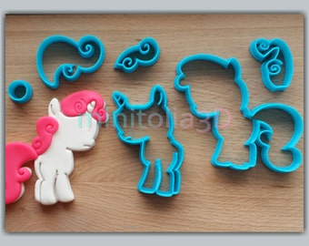 Pony Cookie Cutter Set