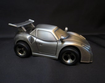 Personalized Laser Engraved Sports Car Bank