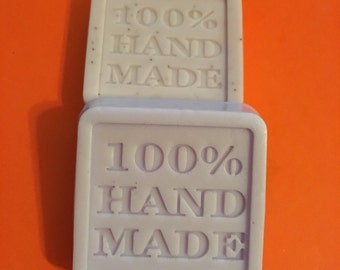 Small square hand nade soaps