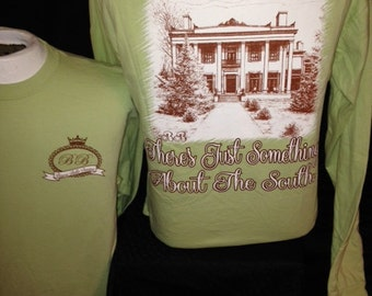 """Bayou Bella """"There's Just Something about the South""""...Tshirt"""