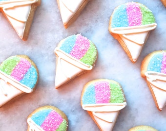 Snow Cone Cookies