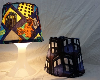 Doctor Who Lamp with Interchangeable Shades